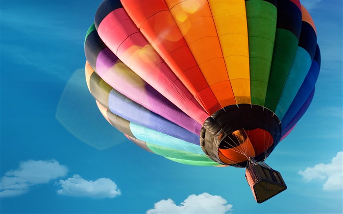 colorful hot air balloon-High quality HD Wallpaper Views:3173