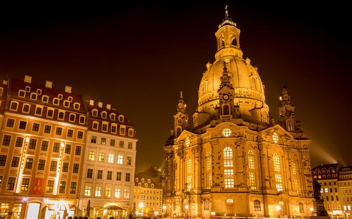 dresden frauenkirche-Photography HD Wallpapers Views:3241