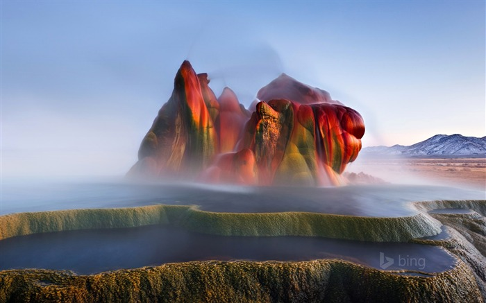 fly ranch geyser-HD Desktop Wallpaper Views:3181