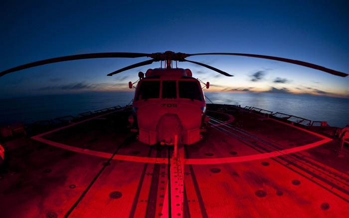 helicopters red and blue-military HD Wallpaper Views:3688