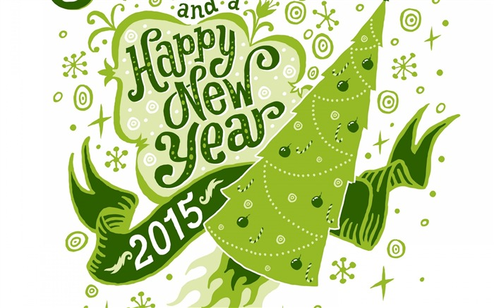 2015 Happy New Year Theme Desktop Wallpaper 06 Views:2404