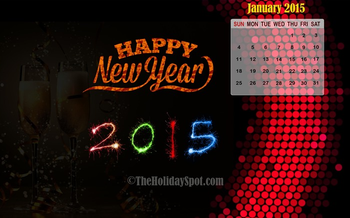 2015 Happy New Year Theme Desktop Wallpaper 12 Views:2364