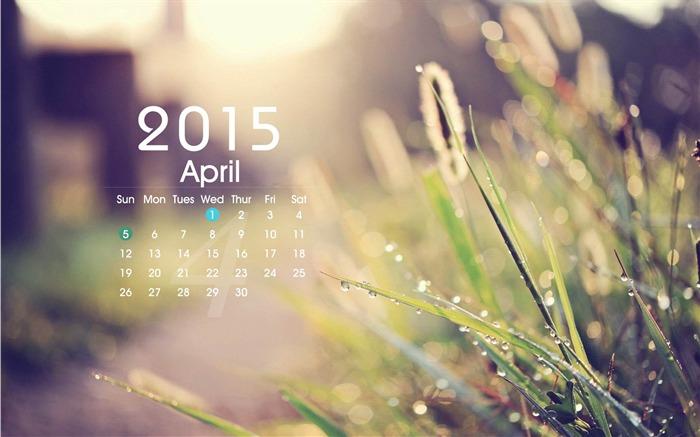 Calendar Theme Wallpaper : April calendar desktop themes wallpaper view