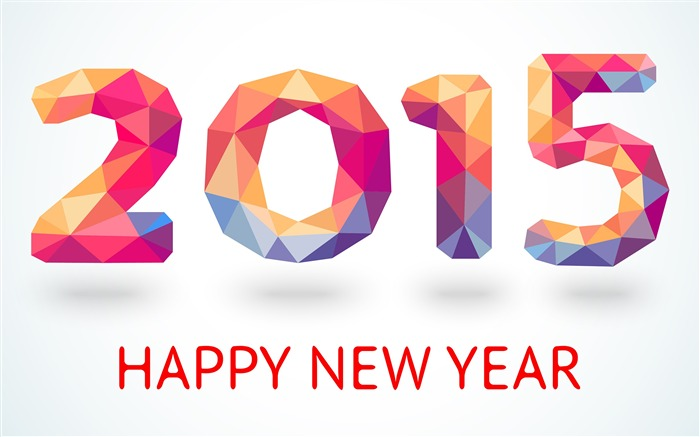 Happy New Year 2015 Theme Desktop Wallpaper Views:15263