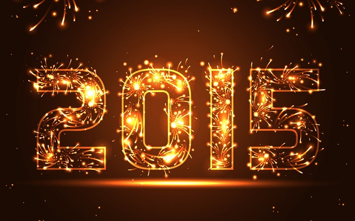 Happy New Year 2015 Theme Desktop Wallpapers 01 Views:3173