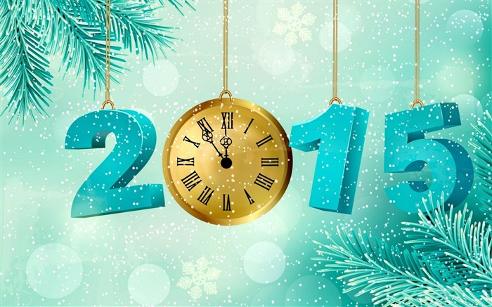 Happy New Year 2015 Theme Desktop Wallpapers 04 Views:3193