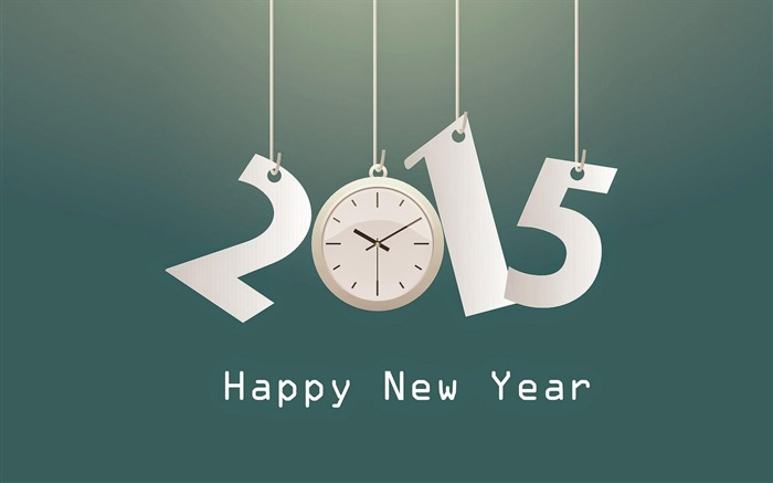 Happy New Year 2015 Theme Desktop Wallpapers 08 Views:2445