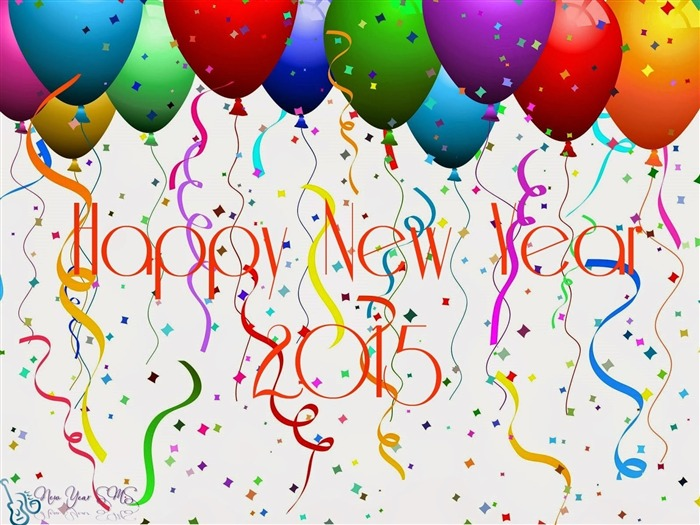 Happy New Year 2015 Theme Desktop Wallpapers 16 Views:1319