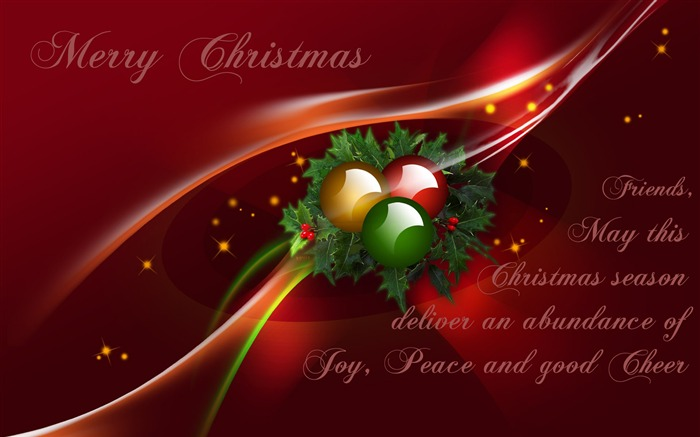 Merry Christmas Wishes-Holiday desktop wallpapers Views:1392