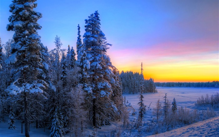 Most beautiful winter landscape HD wallpaper 03 Views:4303