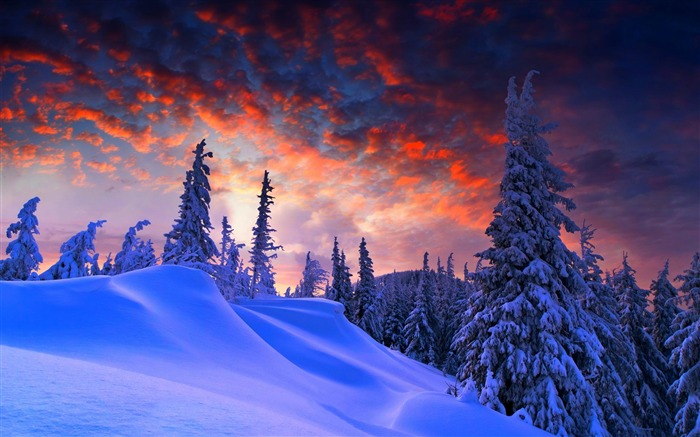 Most beautiful winter landscape HD wallpaper 04 Views:3369