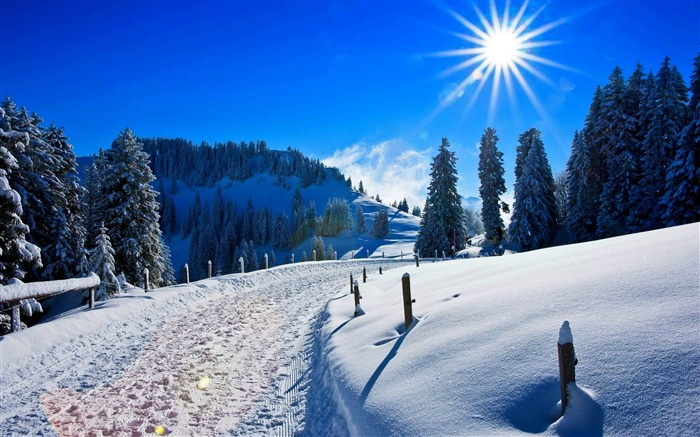 Most beautiful winter landscape HD wallpaper 05 Views:3677