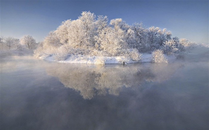 Most beautiful winter landscape HD wallpaper 11 Views:3568