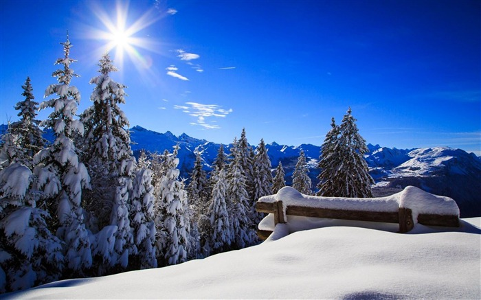 Most beautiful winter landscape HD wallpaper 19 Views:2020