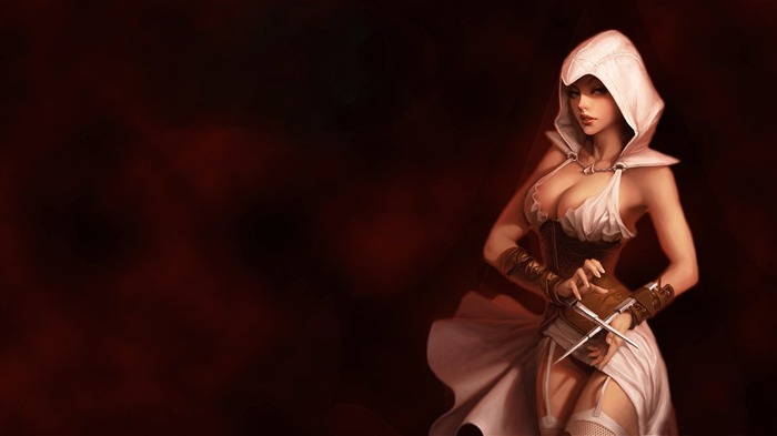 Assassins Creed Girl-Games HD Wallpaper Views:2517