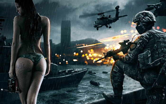 Battlefield 4-Games HD Wallpaper Views:3149