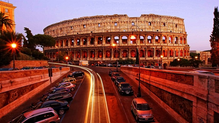 Colosseum Rome Italy-Cities HD Wallpaper Views:2191