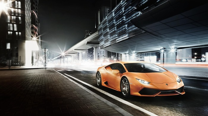 Lamborghini Huracan-HD Widescreen Wallpaper Views:3113 Date:1/11/2015 4:17:54 AM