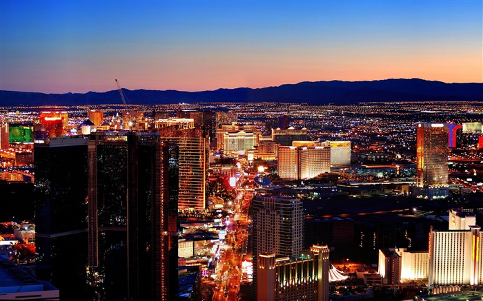 Las Vegas Scenery-Cities HD Wallpaper Views:3137