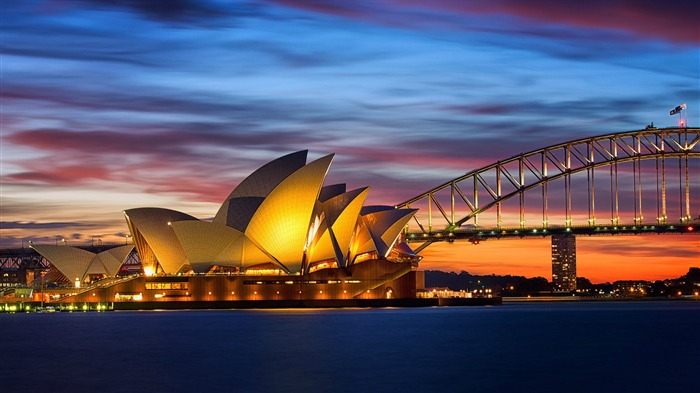 Sydney Opera House-Cities HD Wallpaper Views:2249