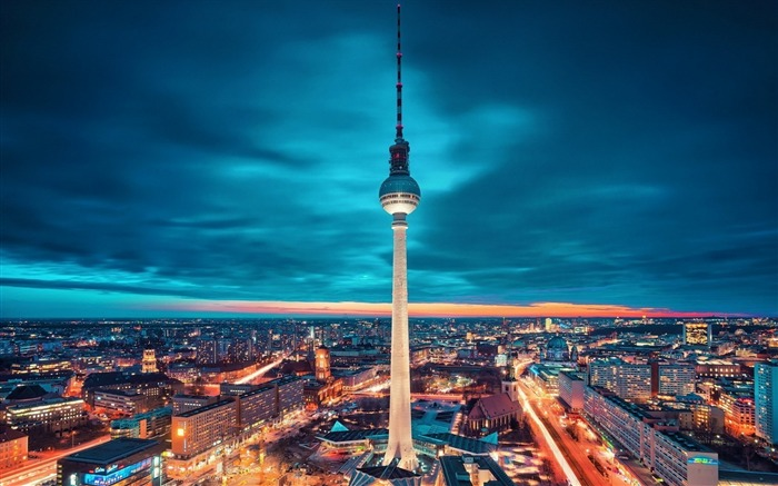 berlin night-Cities HD Wallpaper Views:2285