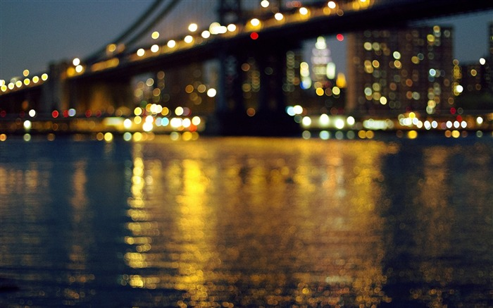 bridge river lights-Cities HD Wallpaper Views:2377