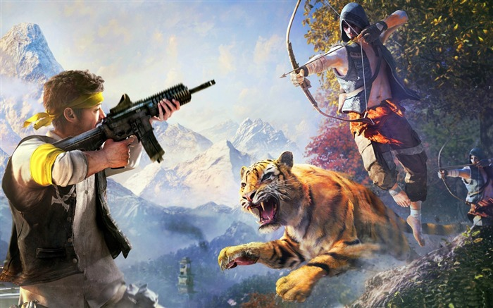 far cry 4 weapons-Games HD Wallpaper Views:2910