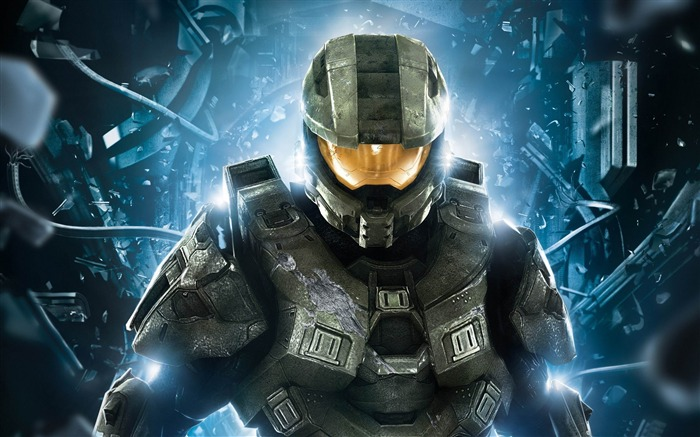 halo 4 master chief-Games HD Wallpaper Views:2946