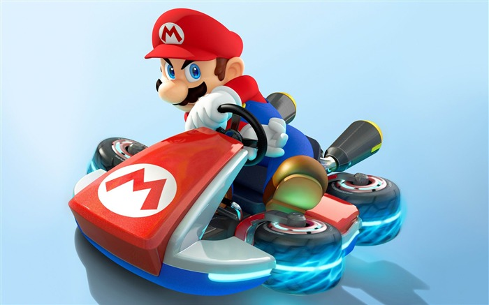 mario kart 8-Games HD Wallpaper Views:4042