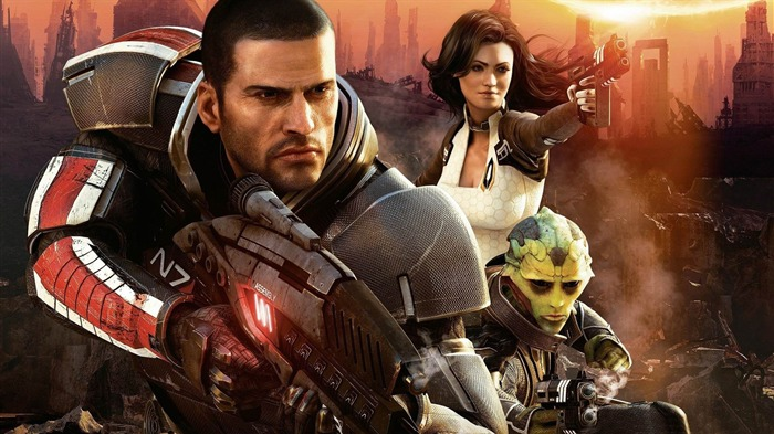 mass effect-Games HD Wallpaper Views:2024
