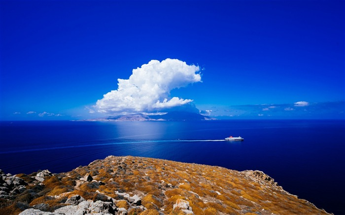 mykonos greece aegean sea-HD Widescreen Wallpaper Views:5215