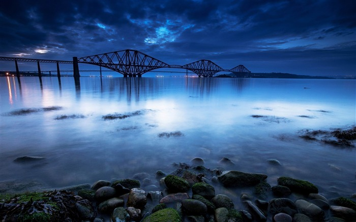 scotland forth bridge-HD Widescreen Wallpaper Views:3283