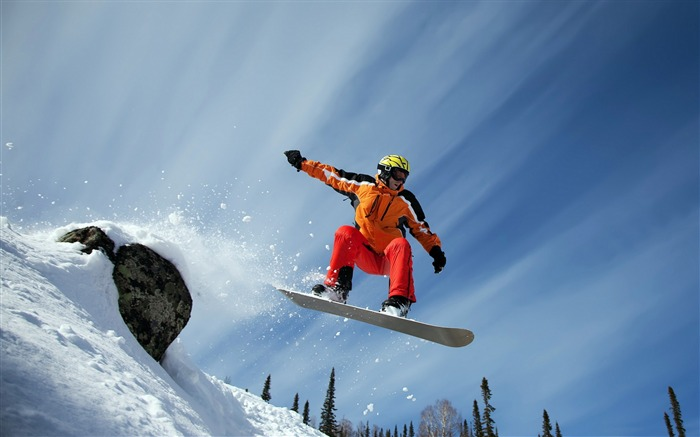 sport snow-HD Widescreen Wallpaper Views:2009
