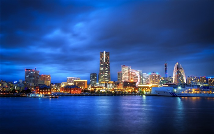 yokohama skyline-Cities HD Wallpaper Views:8649