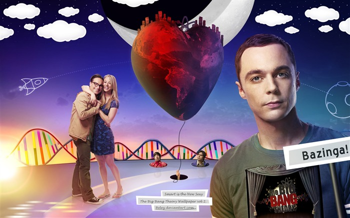 The Big Bang Theory TV Series HD Wallpaper 02 Views:2130