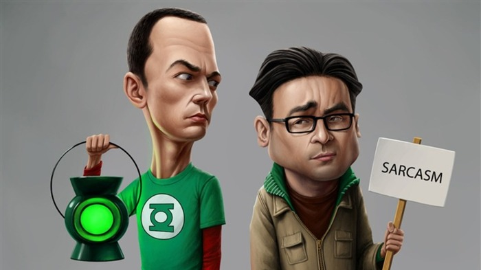 The Big Bang Theory TV Series HD Wallpaper 19 Views:1024