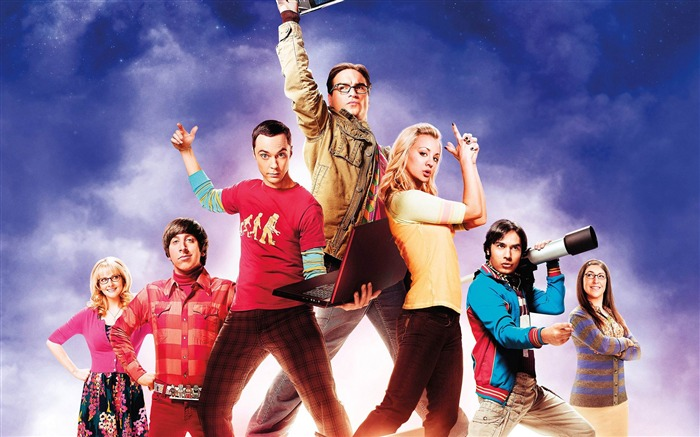 The Big Bang Theory TV Series HD Wallpaper Views:11852