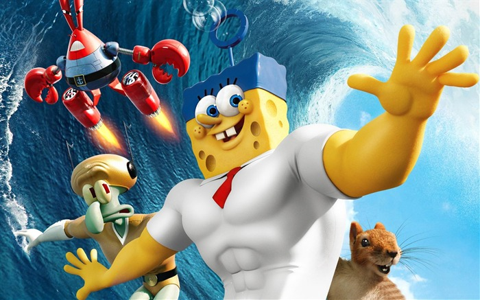 The SpongeBob Movie-Sponge Out of Water HD Wallpaper Views:5447