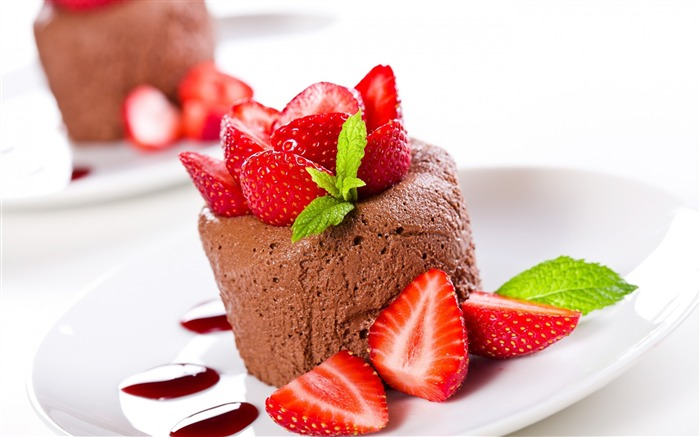 chocolate mousse-High Quality HD Wallpaper Views:2804