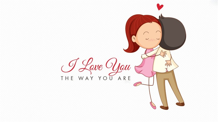 cute Love cartoon-2015 Valentines Day HD Wallpaper Wallpapers View - 10wallpaper.com
