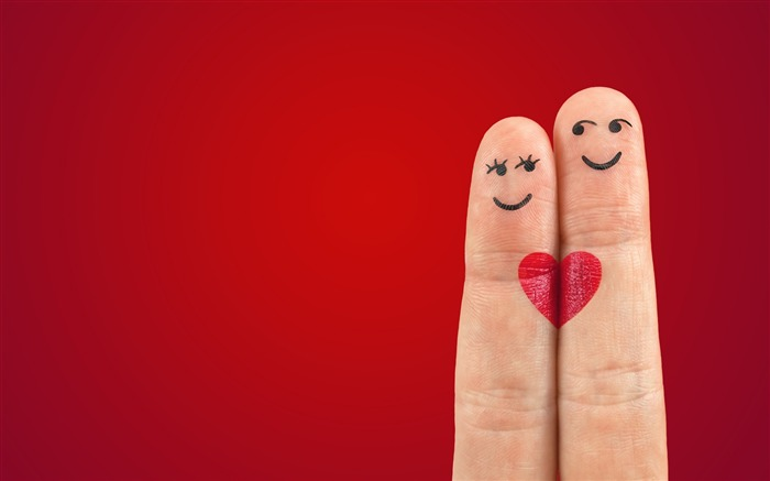 love heart fingers-2015 Valentines Day HD Wallpaper Views:4713 Date:2/14/2015 5:53:44 AM