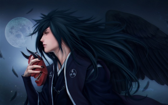 uchiha madara wings naruto-Design Widescreen Wallpaper Views:1616
