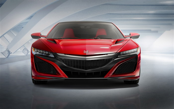 2015 Honda Red NSX Front Auto HD Wallpaper Views:3145