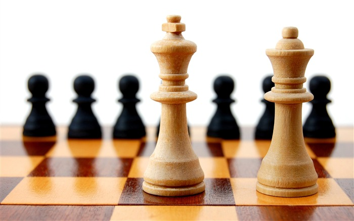 Chess Theme HD widescreen wallpaper Views:6506