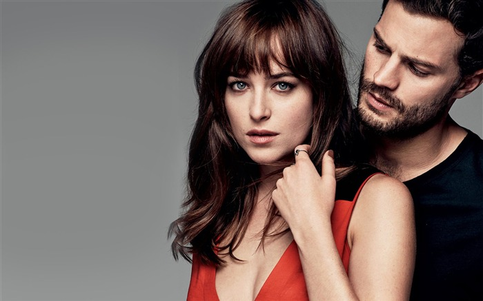 Dakota Johnson And Jamie Dornan-High Quality HD Wallpaper Views:2814