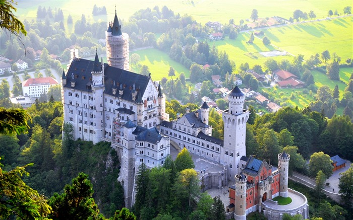 Germany Neuschwanstein HD Photography Wallpaper Views:8514