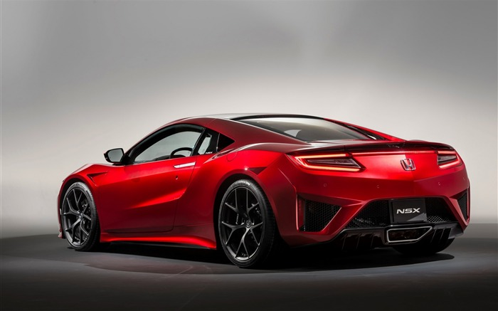 Honda NSX 2015 Back View Auto HD Wallpaper Views:3204