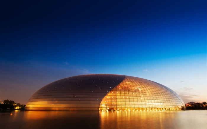 Opera House In China-High Quality HD Wallpaper Views:3175