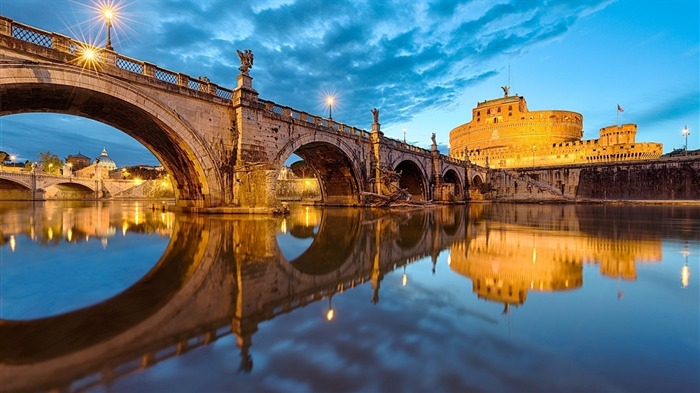 Sant Angelo Rome-Cities Desktop Wallpaper Views:2459