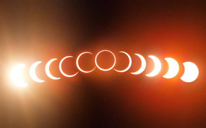 Solar Eclipse Cycle-HD Widescreen Wallpaper Views:1130